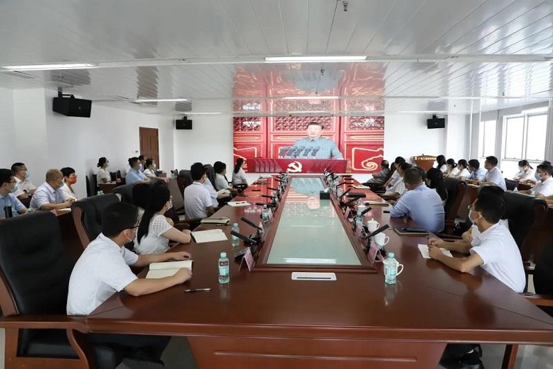 公司干部职工热议习近平总书记 在庆祝中国共产党成立100周年大会上的讲话